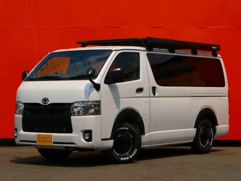 新車ハイエースバン DP2 FD-BOX7 vanlife