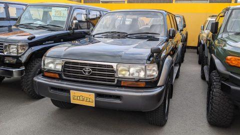 ランクル80 ディーゼル VX-LTD ワンオーナー グリーンⅡ 低走行