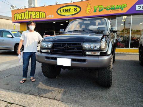 ご納車のお車をご紹介📣 ランクル 80 XV-LTD 最終モデル ✨