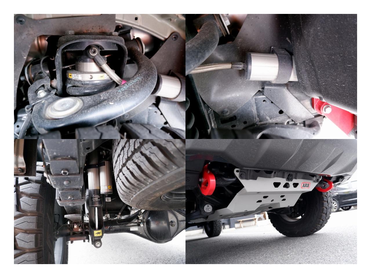 ハイラックス GR スポーツ custom バンパー リフトアップ GUN125 ARB LINE-X エミュー