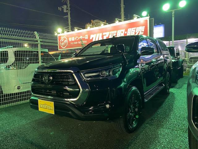 ハイラックス 入庫 即納車 キャノピー ARB LINE-X 新型
