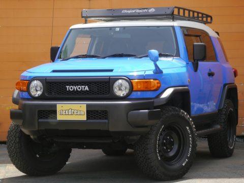 FJクルーザー 4WD 2インチアップ 各部ブラックアウト